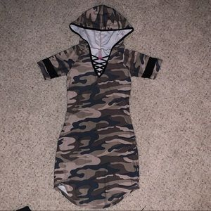 No Boundaries | camouflage dress size XS